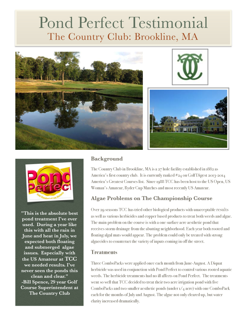 Case Study The Country Club
